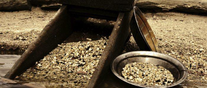 Lavadero de oro, Quiroga.