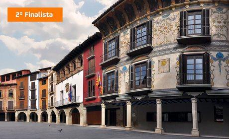 La Plaza Mayor de Graus es el segundo finalista de El Mejor Rincón 2015