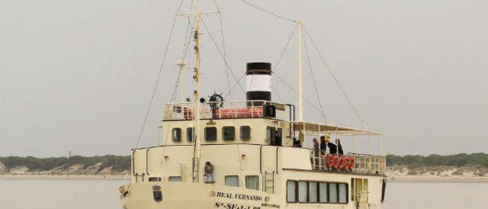 Ruta en barco por el Guadalquivir, Sanlúcar de Barrameda