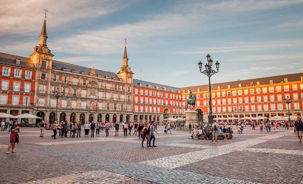 Plaza Mayor. Foto: shutterstock