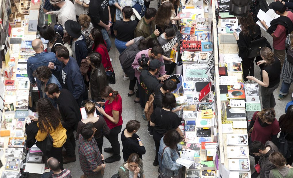 Exposición libros, Libros Mutantes. Foto: La Casa Encendida