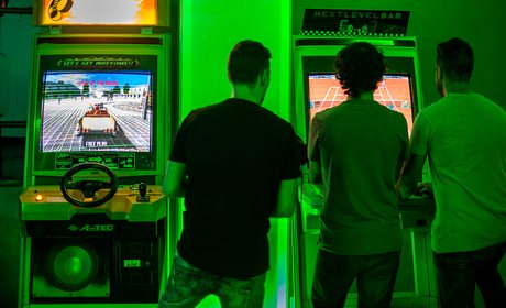Next Level Arcade Bar (Madrid) | Guía Repsol