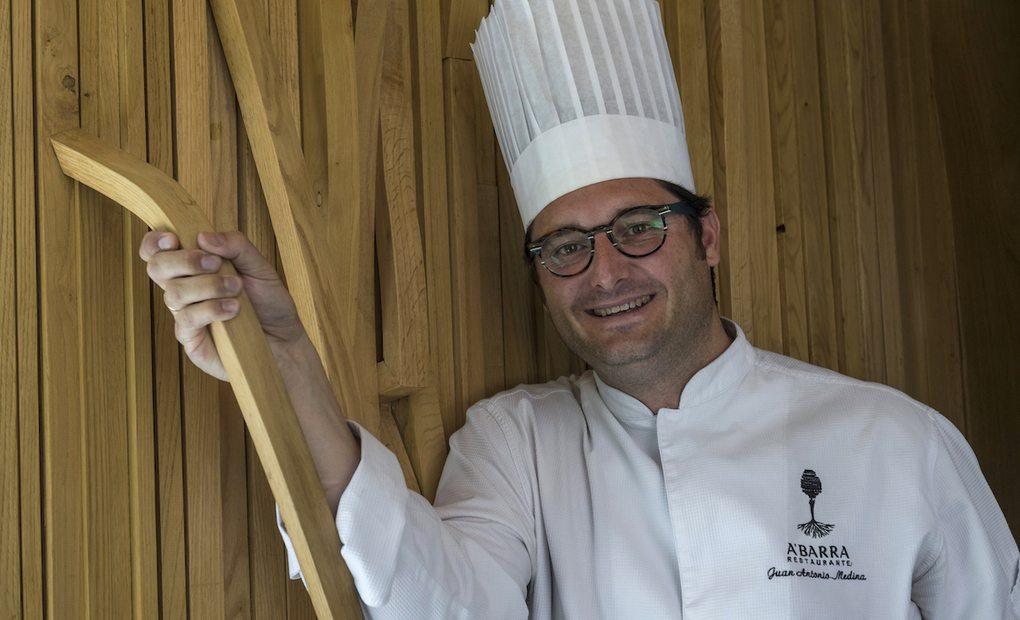 El cocinero Juan Antonio Medina, del restaurante A'Barra (Madrid. Foto: cedida)