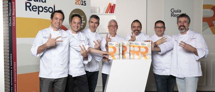 Los nuevos cocineros con tres Soles Repsol 2015