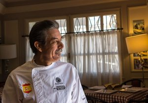 Jesús Marquina, Restaurante Marquinetti, Tomelloso. Foto: Manuel Ruiz Toribio