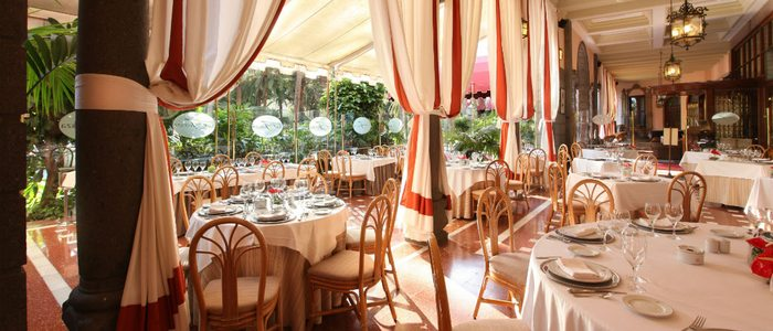 Restaurante del Hotel Santa Catalina