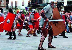 Recreación batalla medieval