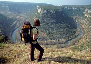 Vistas del Cañón del Ebro