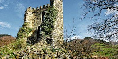 Torre medieval en Soto de Aller