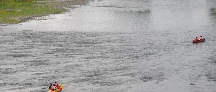 Descenso del río Deva en piragua