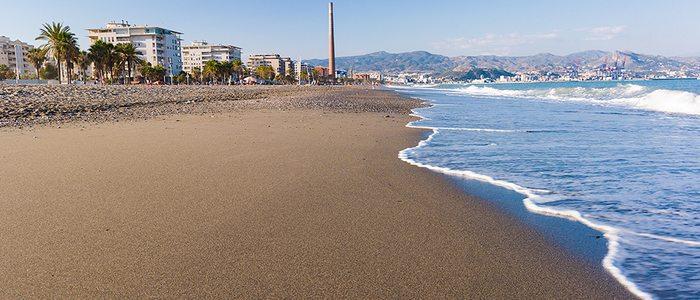 Playa Misericordia, Málaga. / Cedida por: © Área de Turismo Ayuntamiento de Málaga.