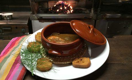 Sopa de pescado Arroenia