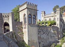 Entrada del Castell de Xàtiva.