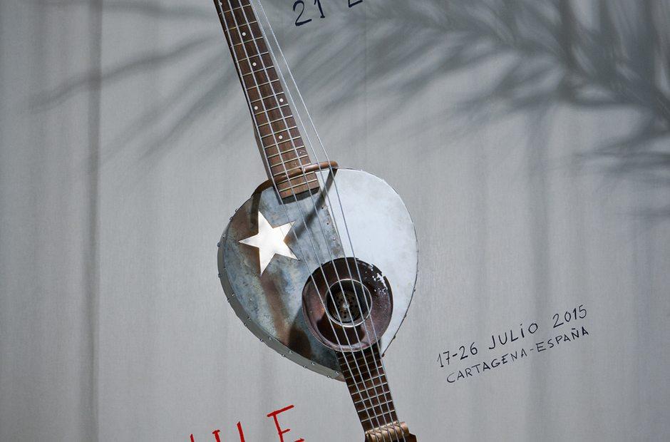Cartel La Mar de Músicas 2015.
