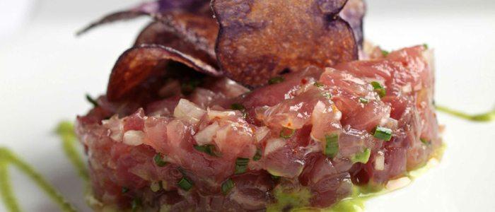 Tartar de atún, Casanis