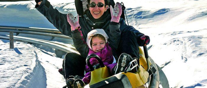 El trineo ruso, una divertida actividad sin esquís