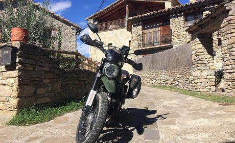 Entrada de pueblo Huesca