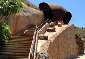 Entrada mina Agrupa Vicenta. / Cedida por: Parque Minero de La Unión.
