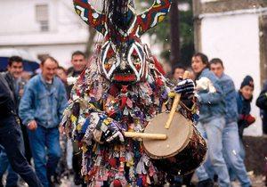 El Jarramplas, vestimenta tradicional de la fiesta de Piornal