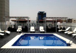 Piscina del Holiday Inn de Madrid