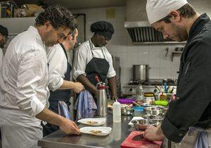 Cocina. El Bohío. Fotos: Alfredo Cáliz