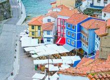 Casas en el puerto, Cudillero