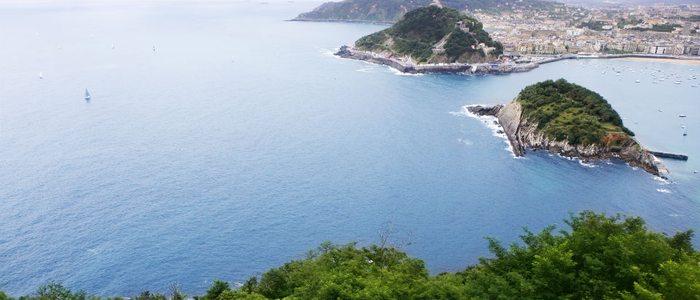 Bahía de Donostia desde el monte Igeldo