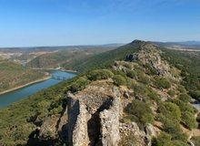 Vista desde el castillo del Parque Nacional de Monfragüe