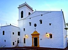 Iglesia de San Martín, en Es Mercadal