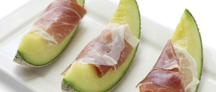 Además de como postre, el melón de Villaconejos es ideal para comerlo con jamón