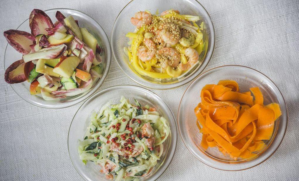 Las cuatro ensalada. Foto: DAvid de Luis