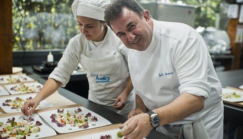 Martín Berasategui en Lasarte: en las cocinas del mejor restaurante del mundo | Guía Repsol
