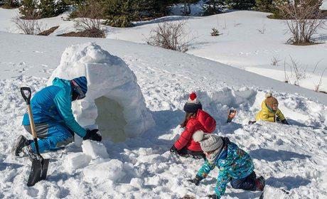 Construir un iglú en el Valle de Tena (Huesca)   Guía Repsol