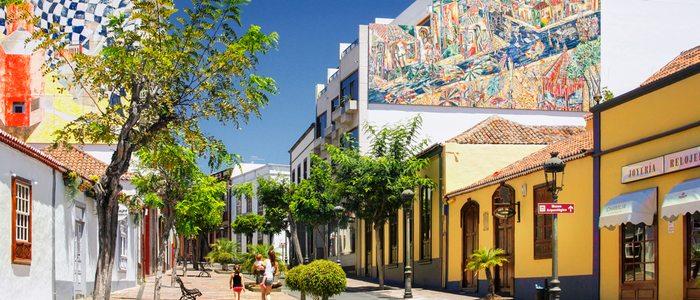 Calle Real en Los LLanos de Aridane. / Autor: D.Dahncke. / Cedida por: Patronato de Turismo de La Palma.