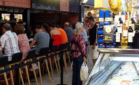 Central Bar, de Ricard Camarena en el Mercat Central de Valencia
