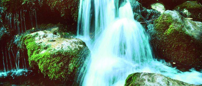 Nacimiento del río Mundo en la sierra de Alcaraz