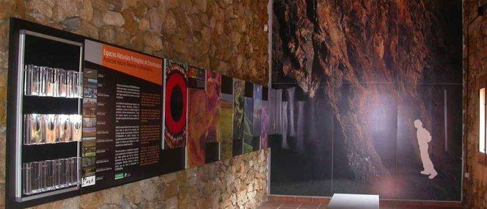Interior del museo La Jayona