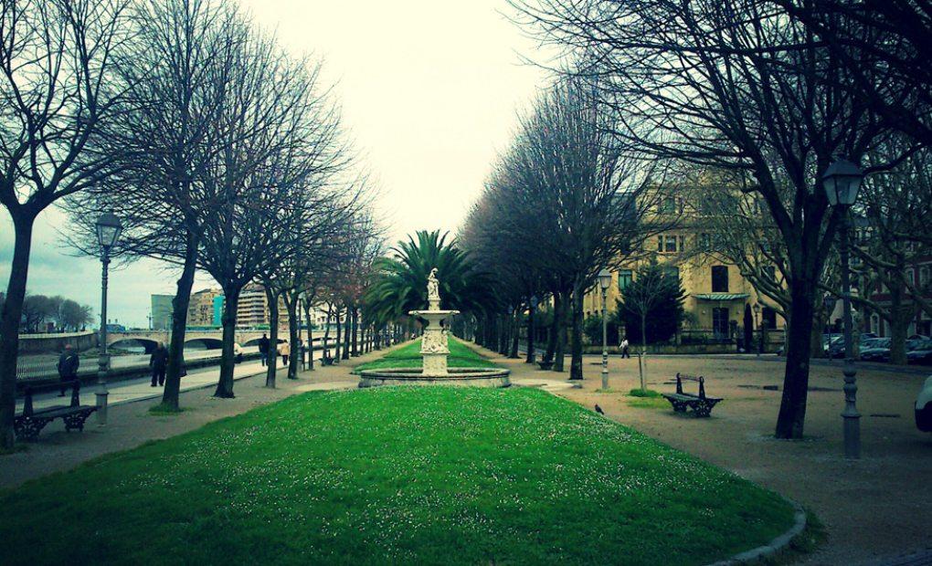 Paseo de Francia en Donosti