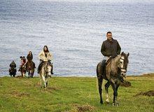 Excursión a caballo por la costa de Trasmiera